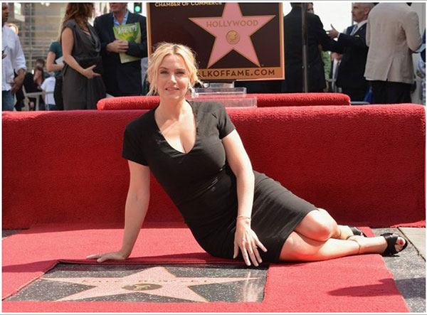 kate winslet walk of fame 20.03.201402
