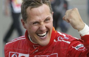 Formula 1'in efsane pilotu Michael Schumacher