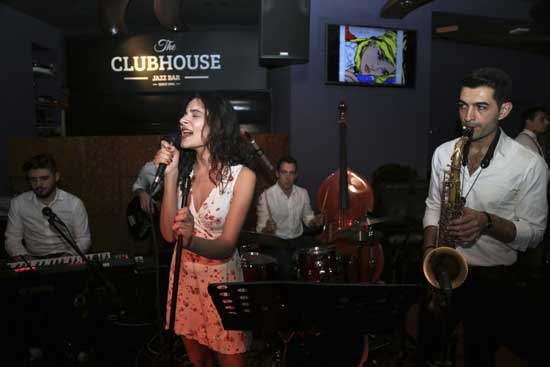 ilyada Zayim Quartet-the clubhouse jazz bar-mayatta